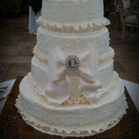 Wedding Cake Bow Its all about the Bow! Brides cakes