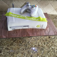 Xbox Cake Xbox cake & remote control with moving buttons