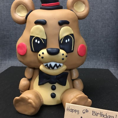 Freddy Fazbear Of Five Night's At Freddy's on Cake Central