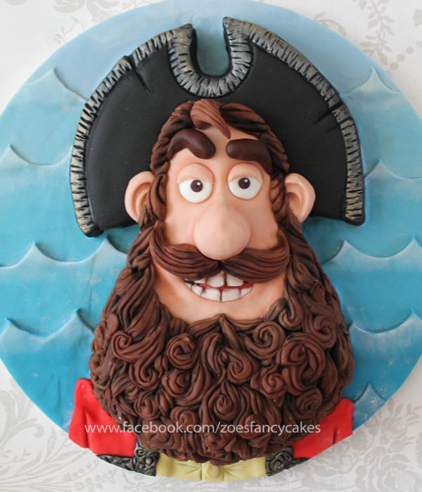 Pirate Captain Cake