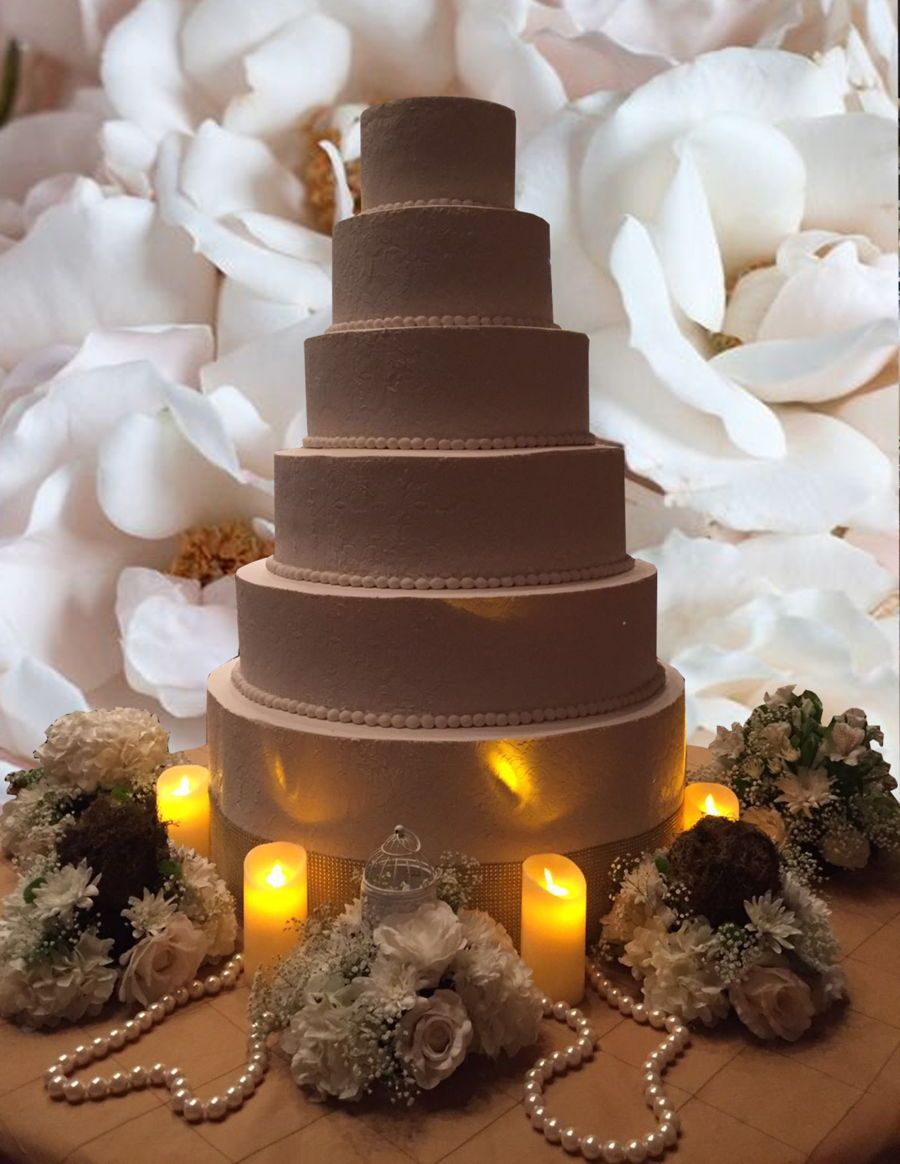 28 Base Wedding Cake