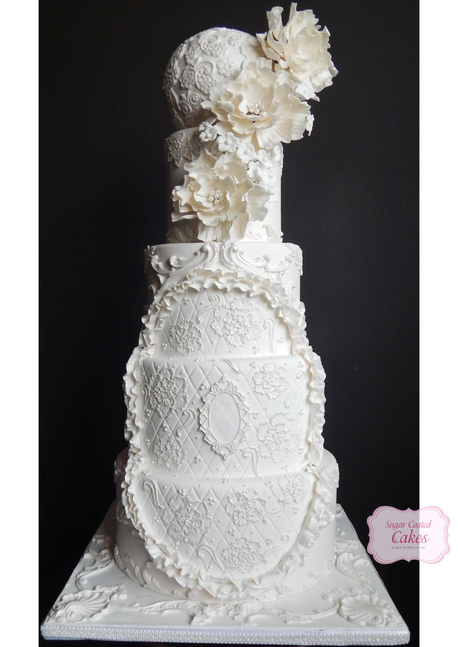 Baroque Inspired on Cake Central