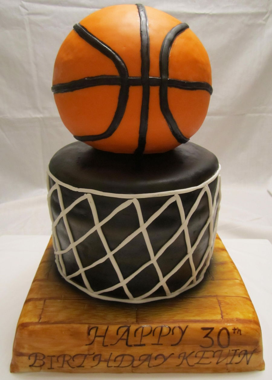Basketball Cake on Cake Central