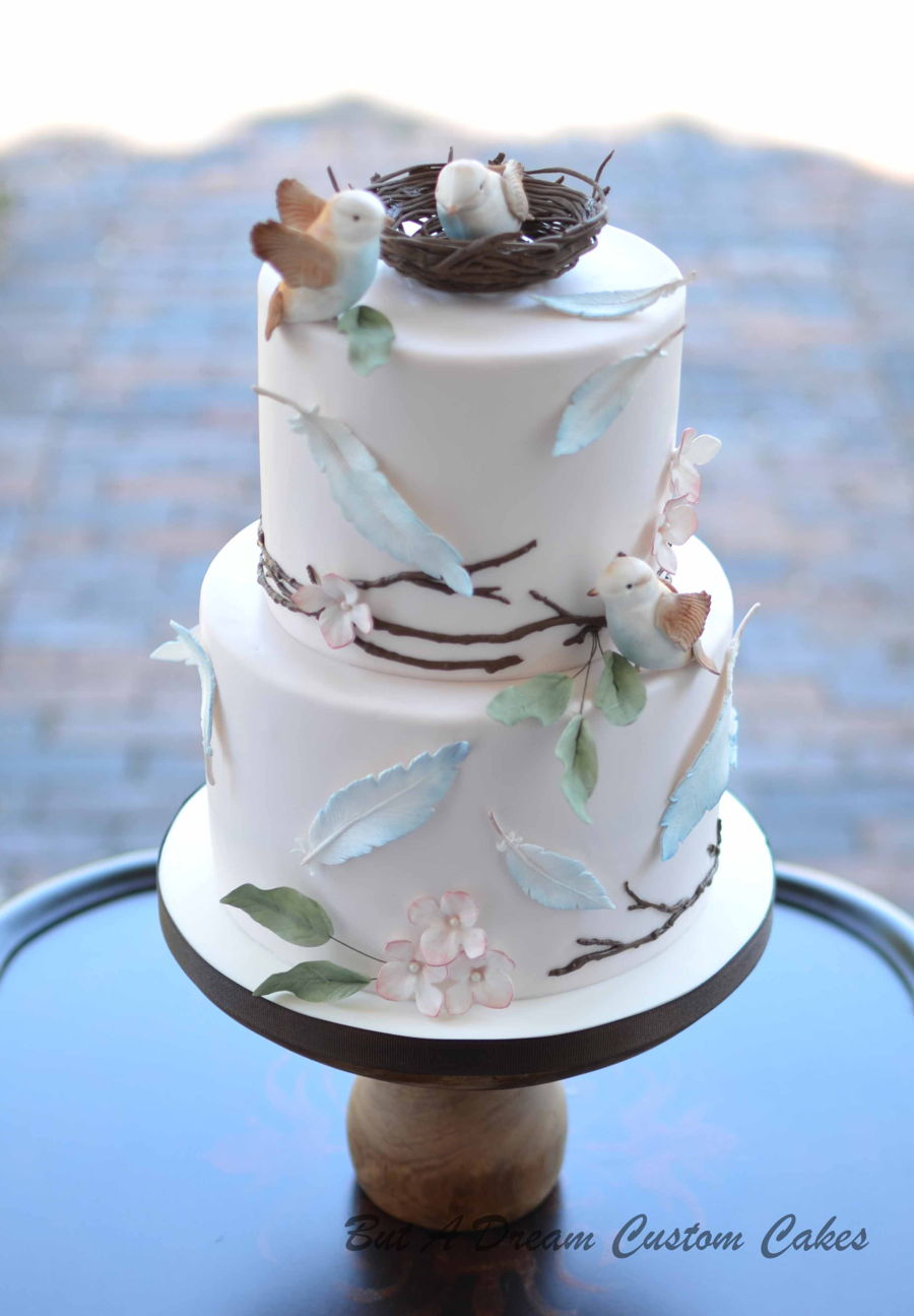 Birds Leaving The Nest on Cake Central