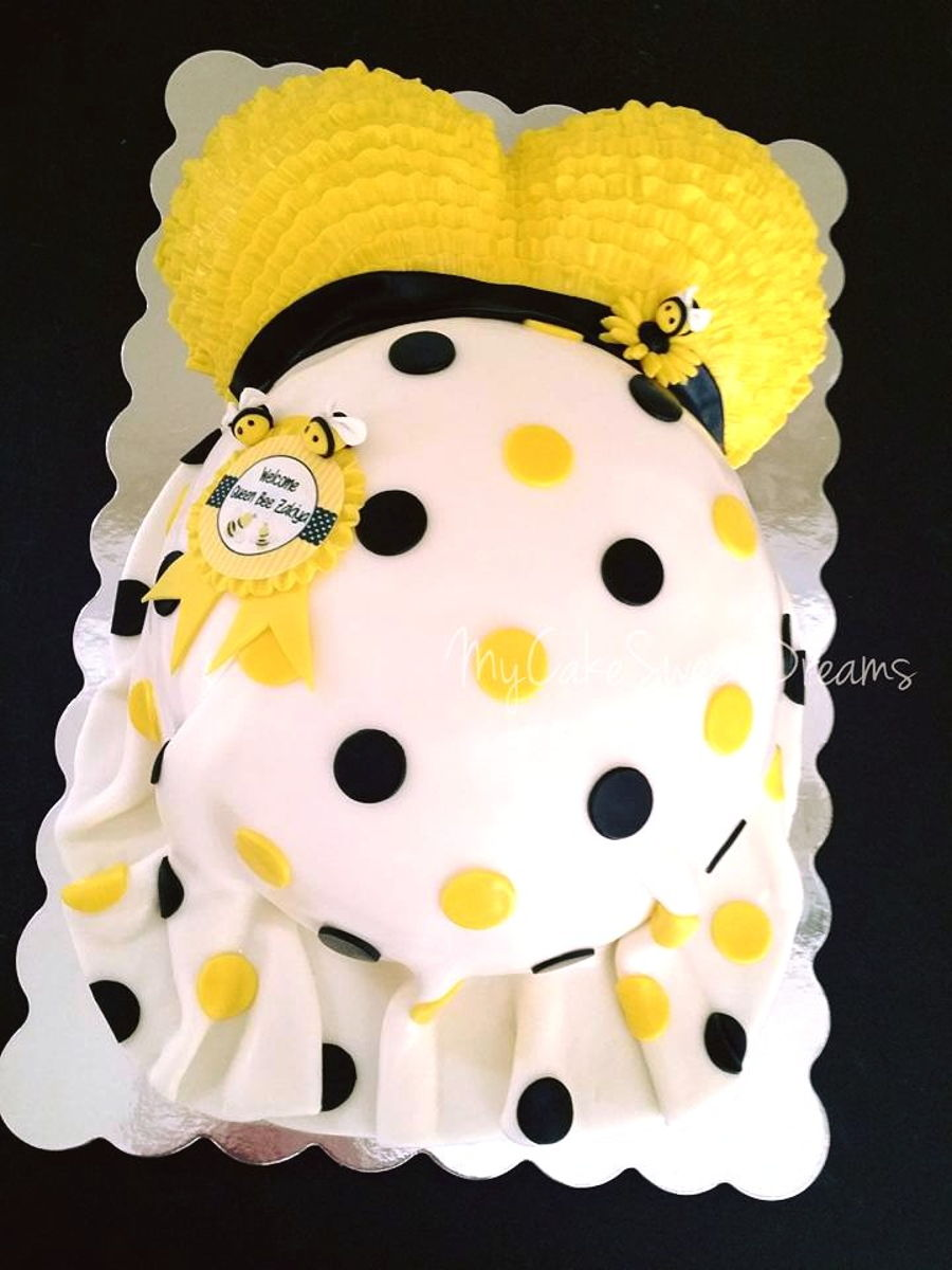 What Will It Bee Baby Shower Cake