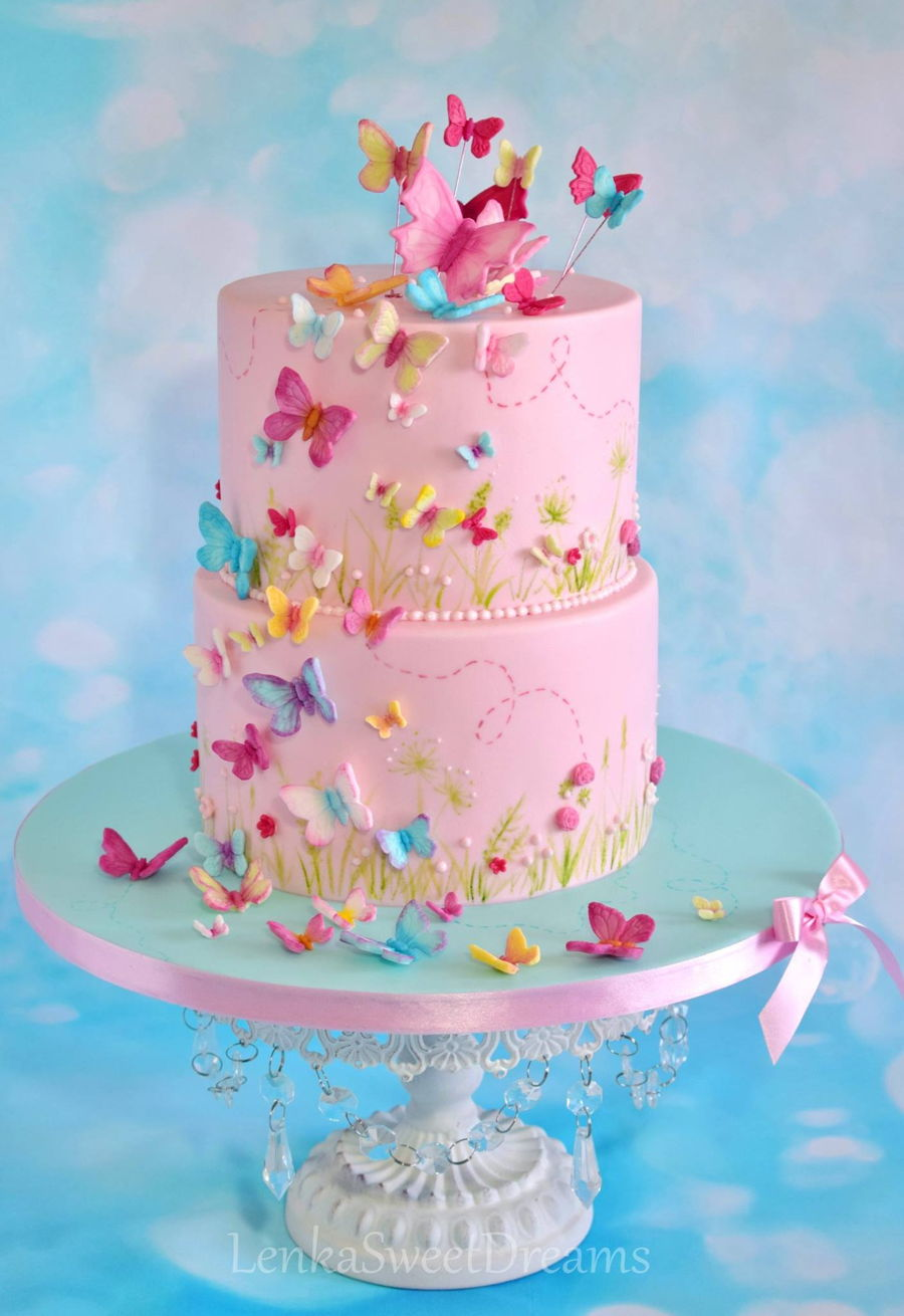 Butterfly Cake. - CakeCentral.com