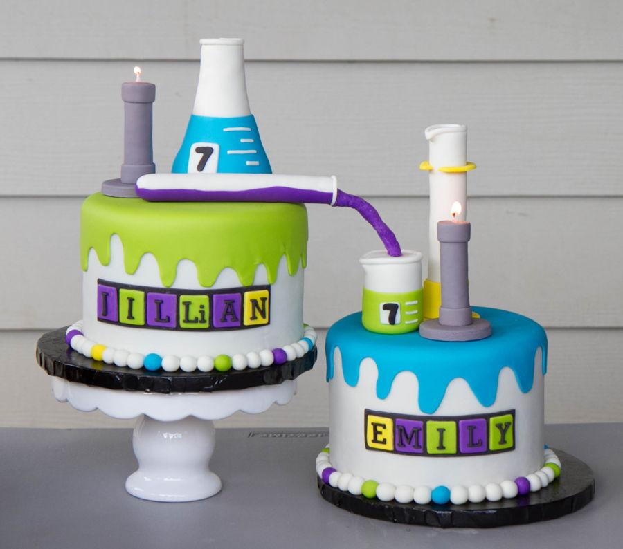 Science Themed Cake Ideas