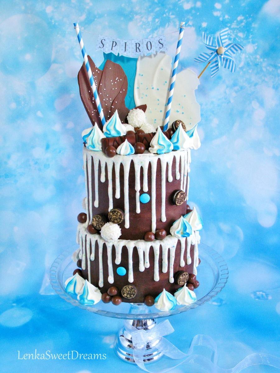 Chocolate Drip Cake Cakecentral Com