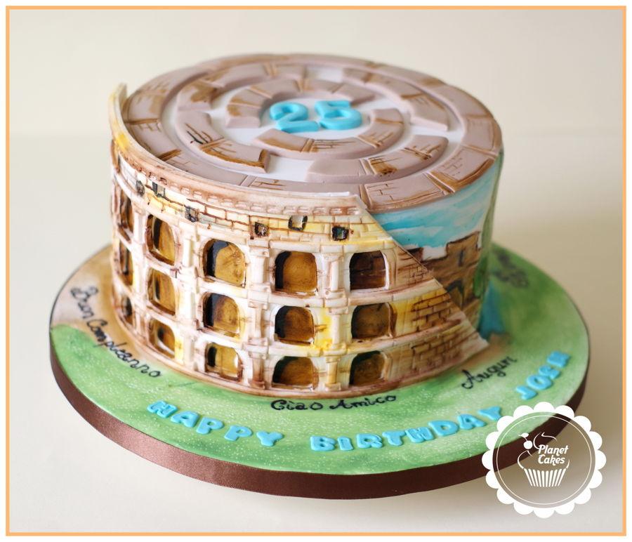 Colosseum Cake Rome Cakecentral Com