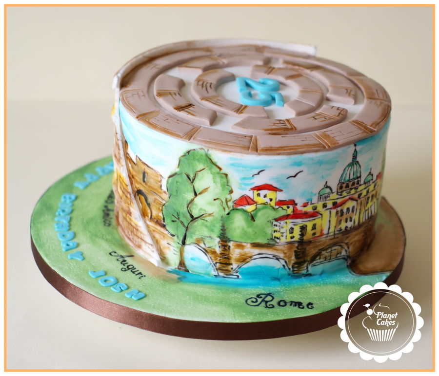 Colosseum Cake-Rome - CakeCentral.com