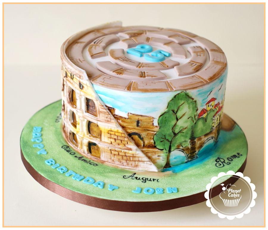 Cake Design Roma : Colosseum Cake-Rome - CakeCentral.com