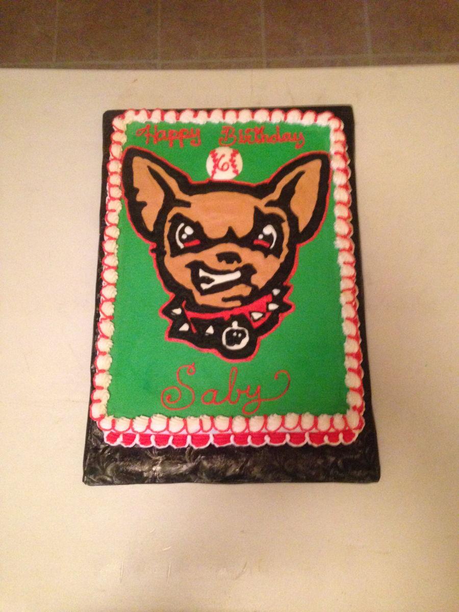 Cake Decorating Classes El Paso Tx : El Paso Texas Chihuahua Baseball Team - CakeCentral.com