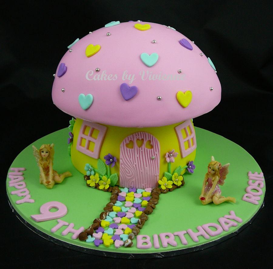 Fairy Mushroom Cake Cakecentral Com