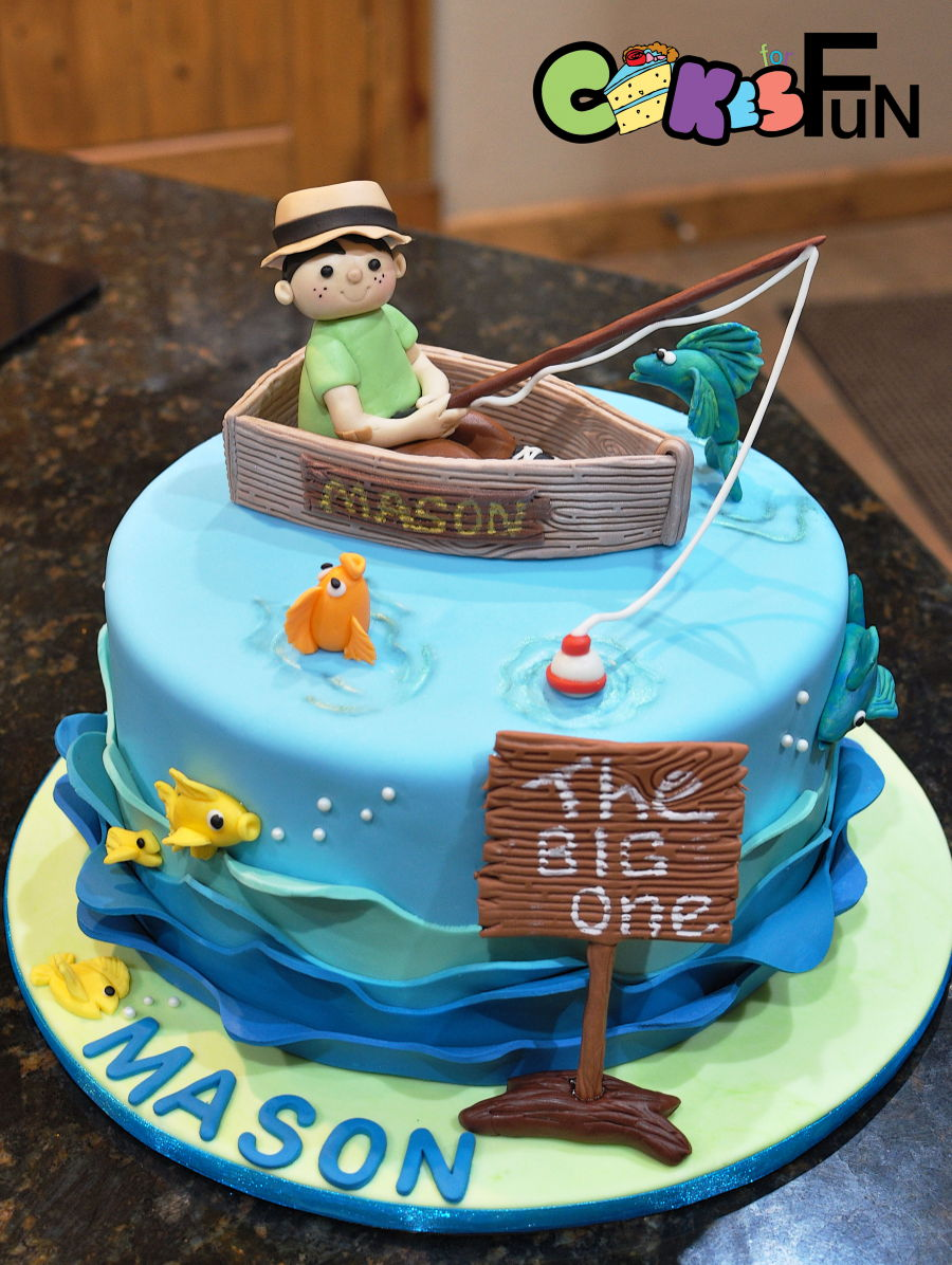 Fishing for first birthday for Fishing first birthday