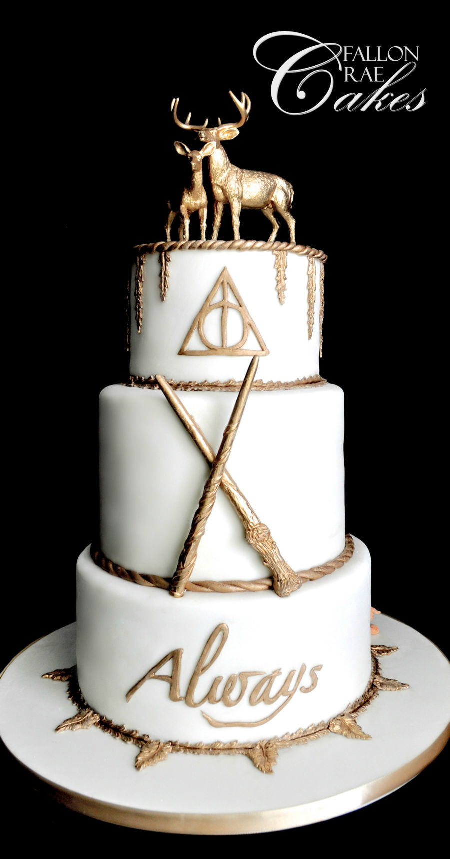 Cake Designs Harry Potter : Harry Potter Wedding Cake - CakeCentral.com