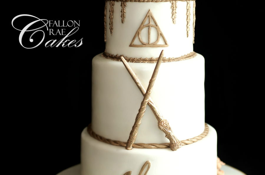 Harry Potter Wedding Cake CakeCentralcom