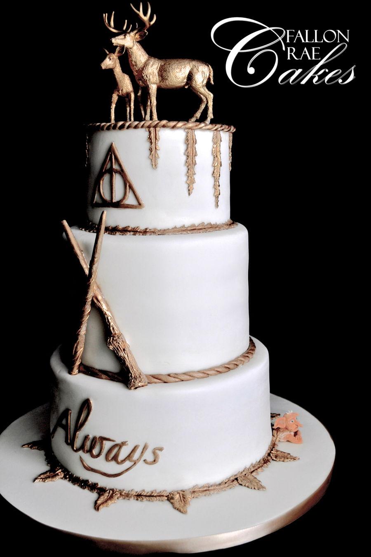 Cake Design Harry Potter : Harry Potter Wedding Cake - CakeCentral.com