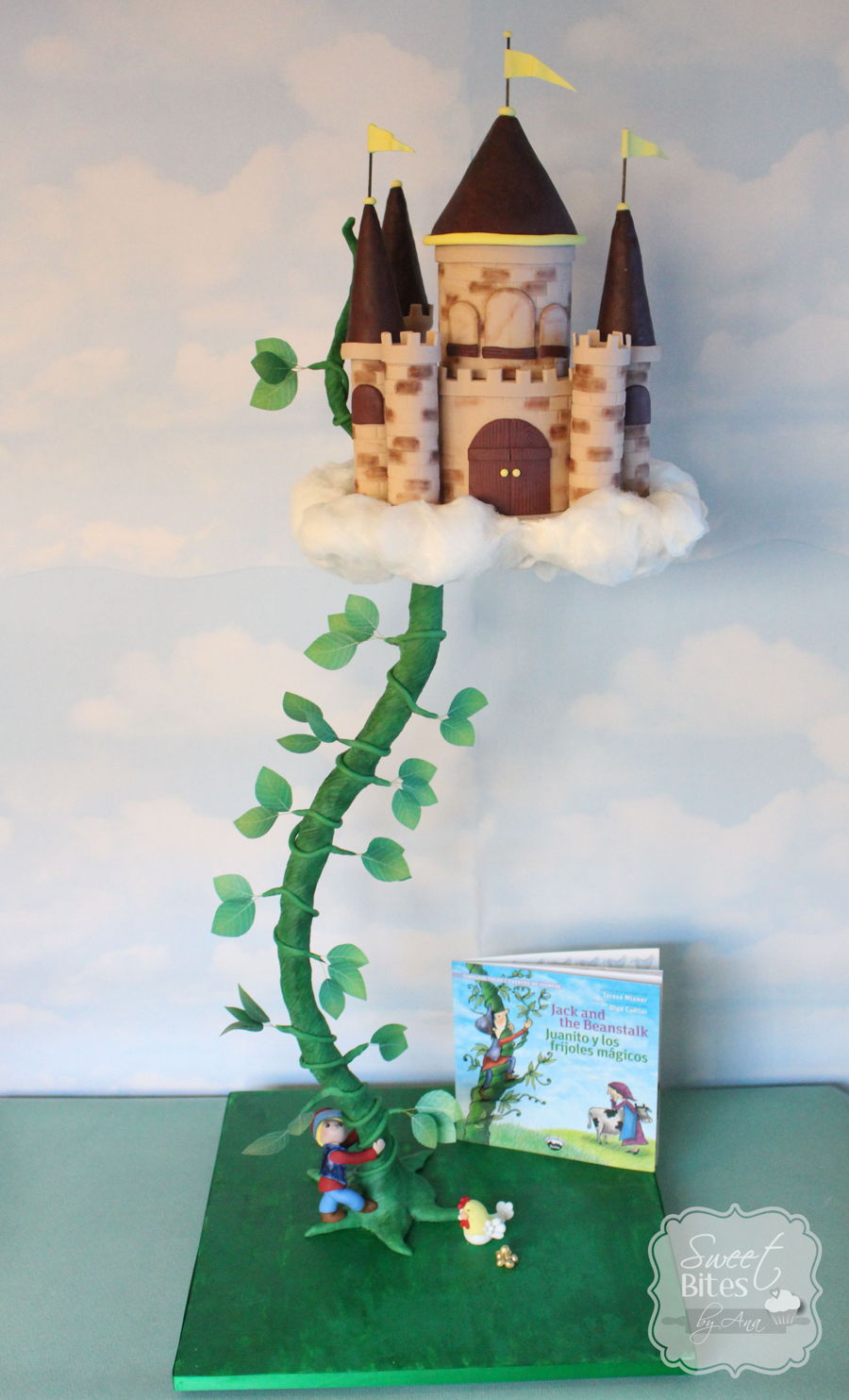 Jack And The Beanstalk Cake Cakecentral Com