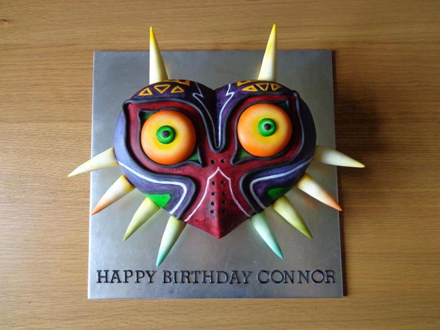 Majora S Mask Cake Cakecentral Com