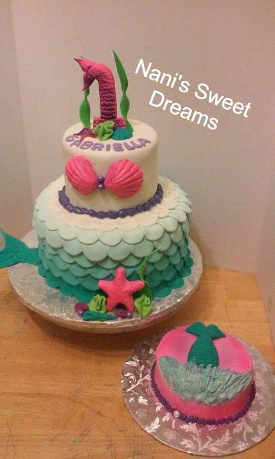 Mermaid 1St Birthday - CakeCentral.com