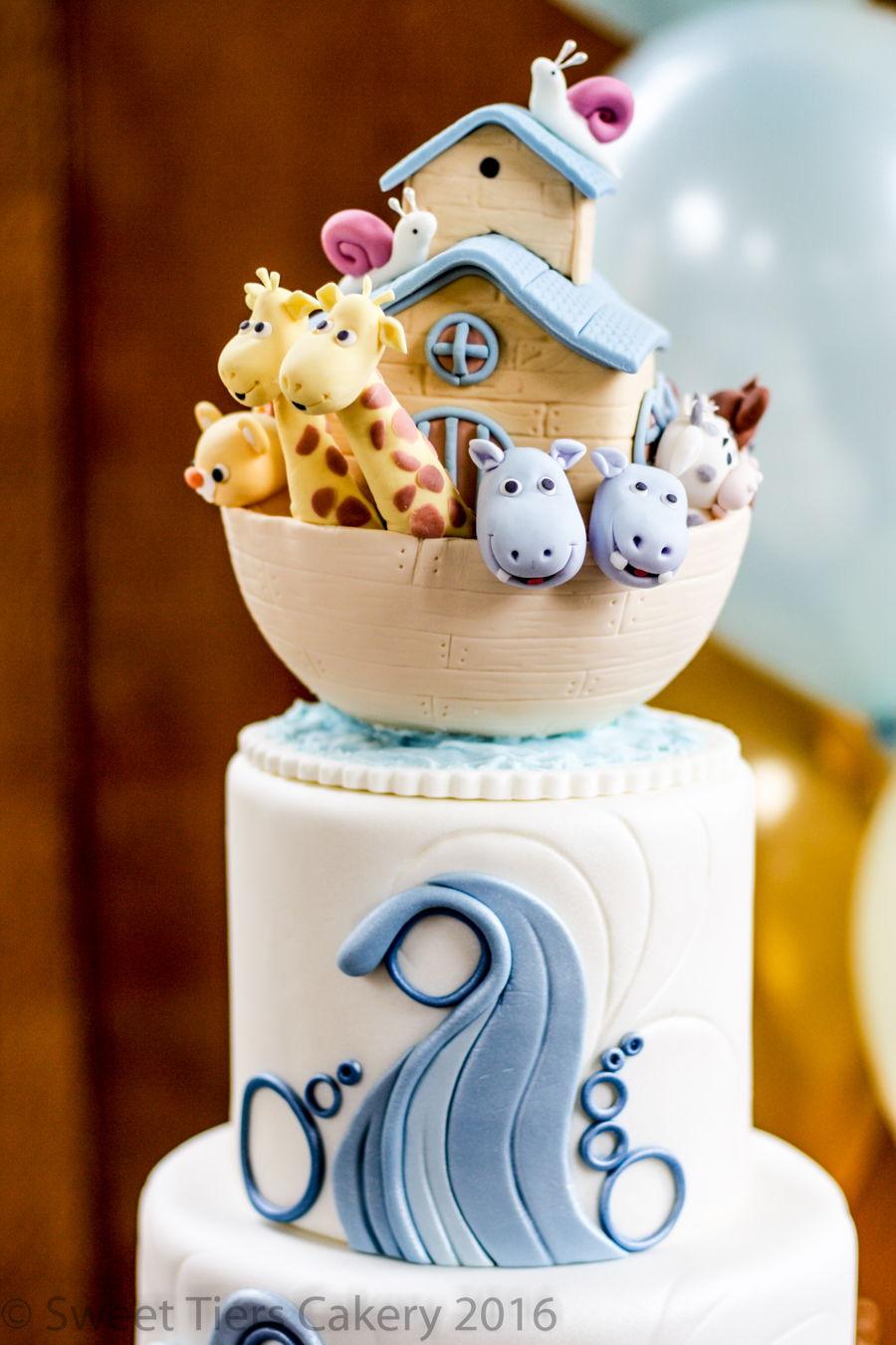 Noah S Ark Christening Cake Cakecentral Com