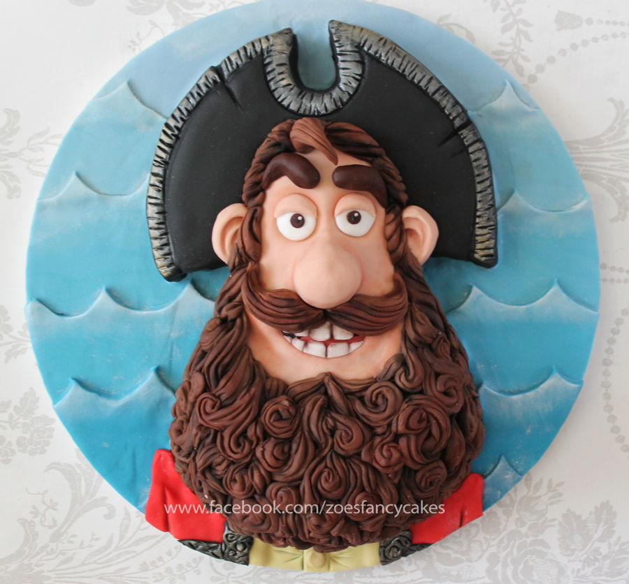 Pirate Captain Cake on Cake Central