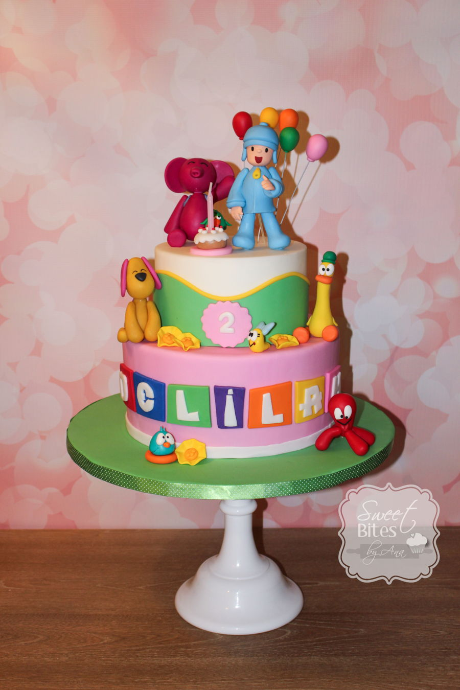 Pocoyo Themed Birthday Cake Cakecentral Com
