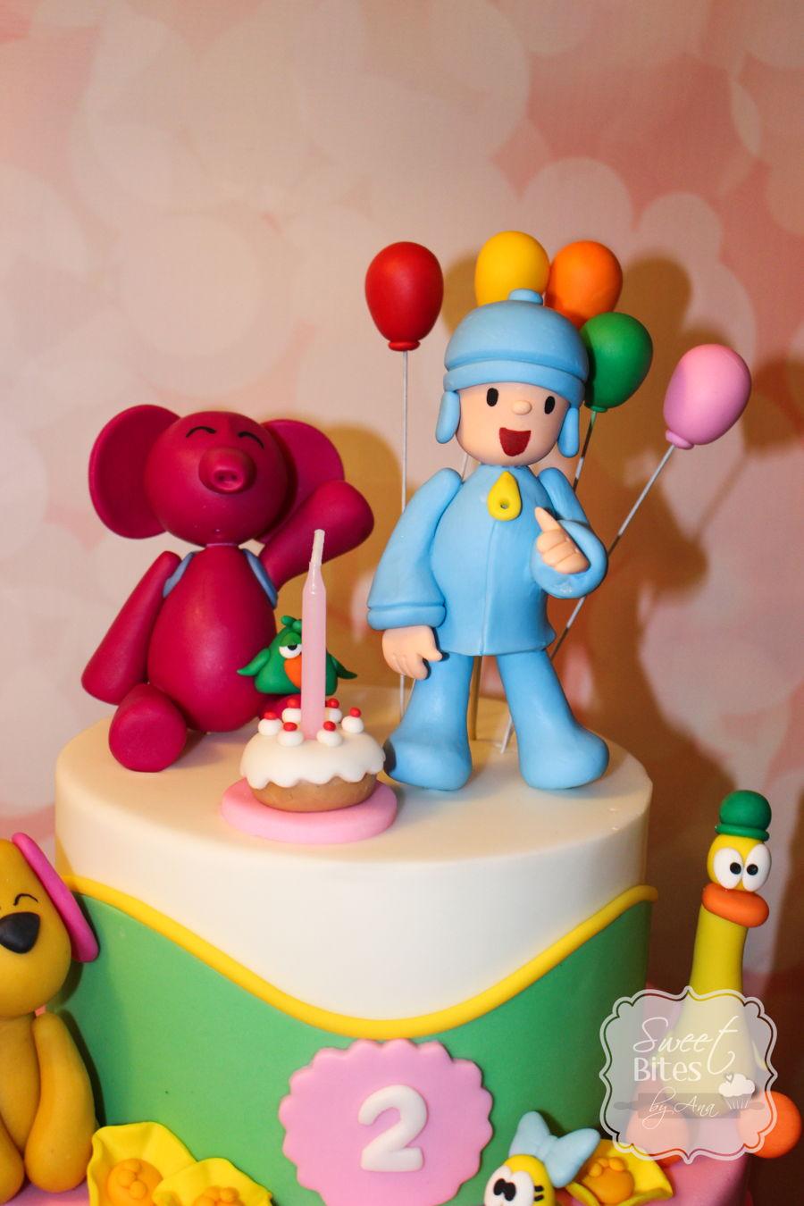 Pocoyo Themed Birthday Cake Cakecentral Com