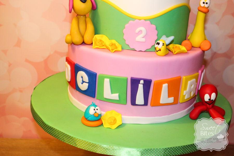 Pocoyo Themed Birthday Cake Cakecentral