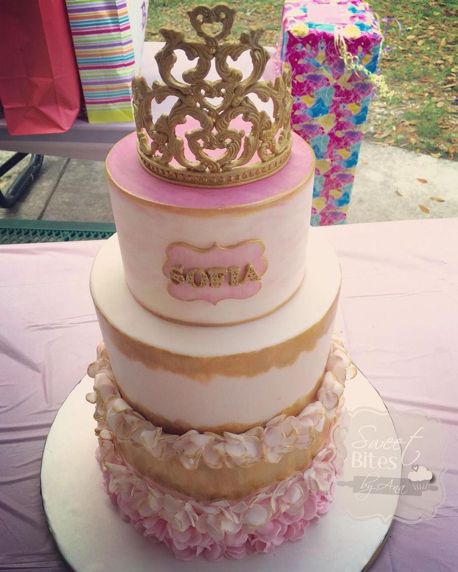 Royal Princess Baby Shower Cake On Cake Central