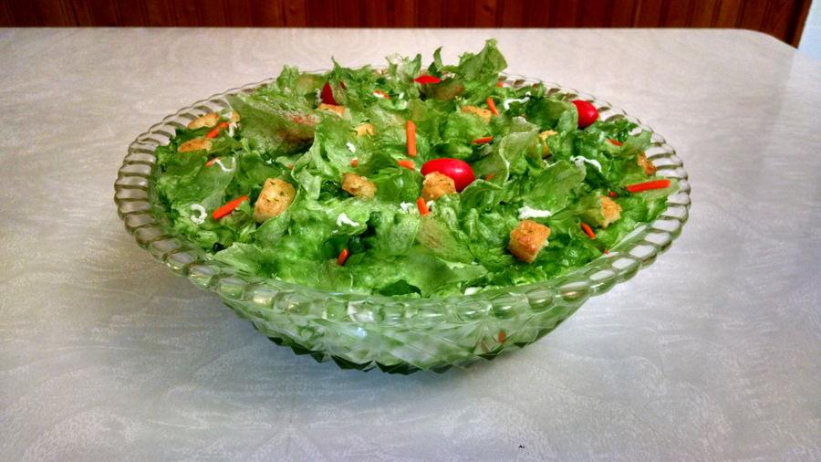Salad Cake 2016 Cakecentral Com