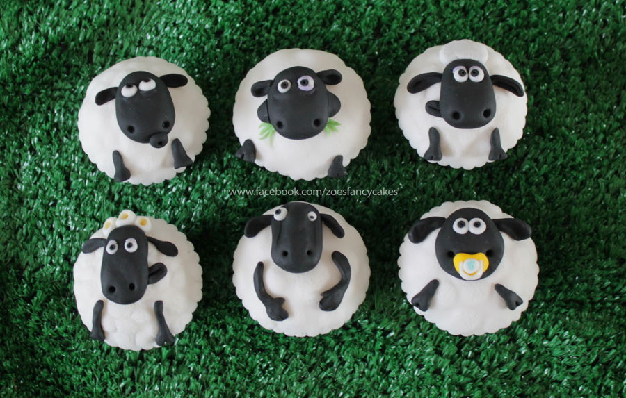 Shaun The Sheep Cupcakes! on Cake Central