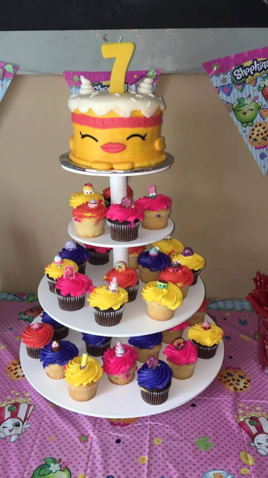 Pictures Of Cupcake Cakes For Birthdays