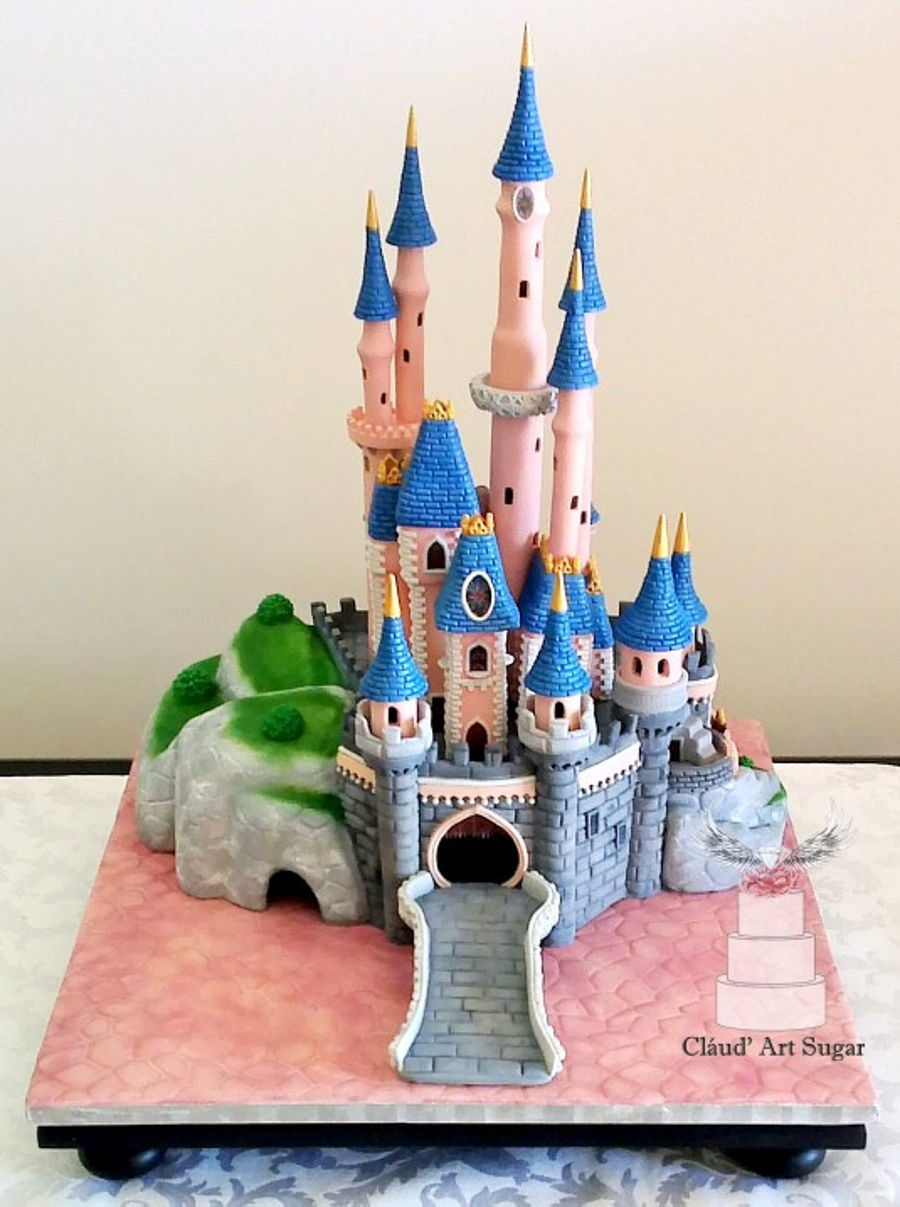 Sleeping Beauty Castle Cake Cakecentral Com