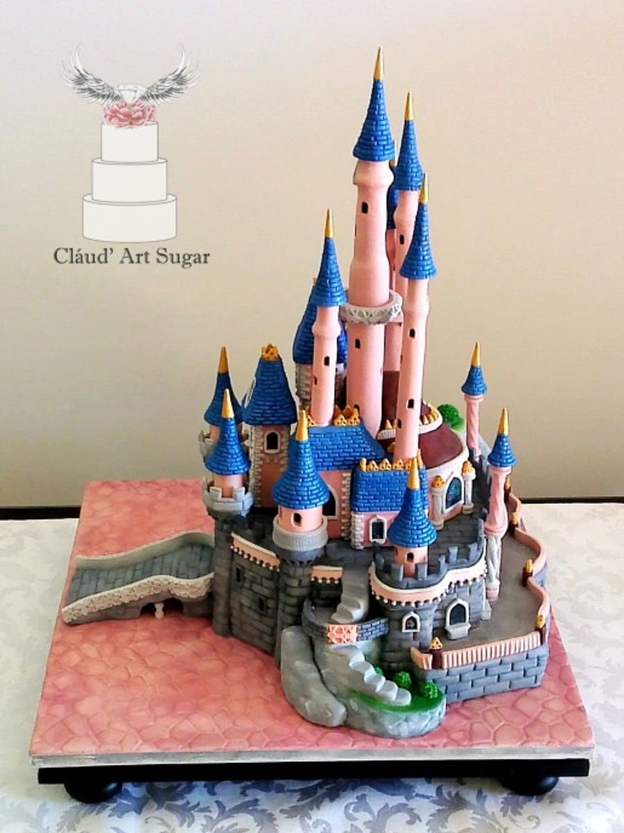 Sleeping Beauty Castle Cake Cakecentral Com
