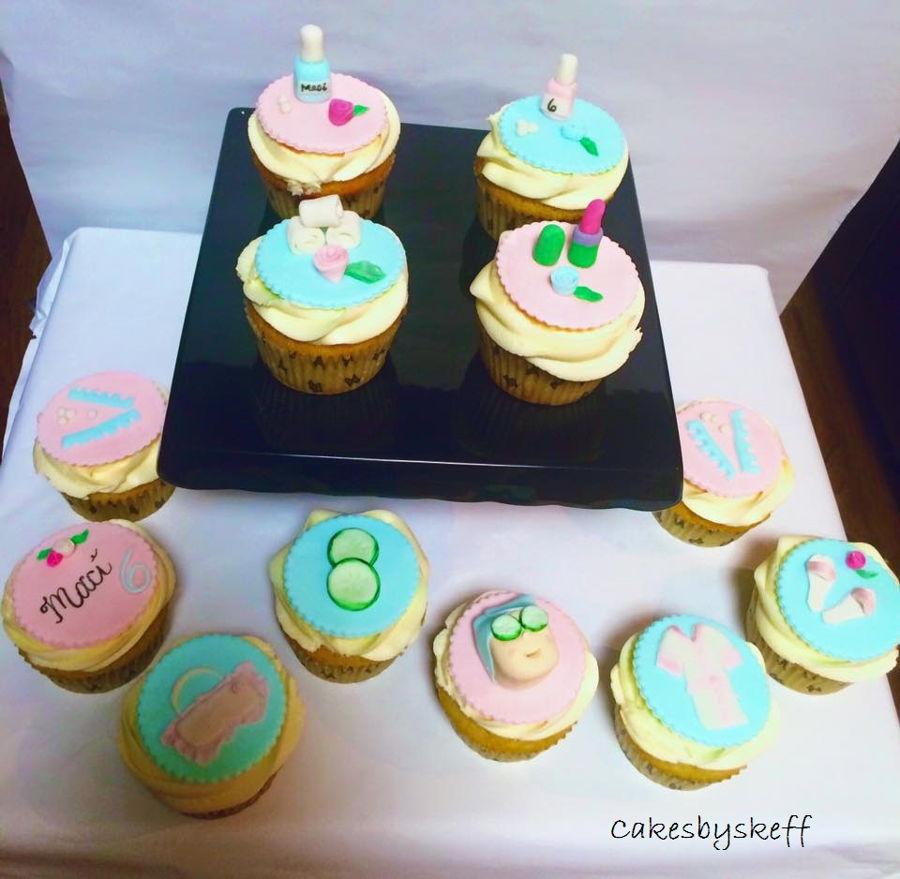 Spa Cupcakes CakeCentralcom