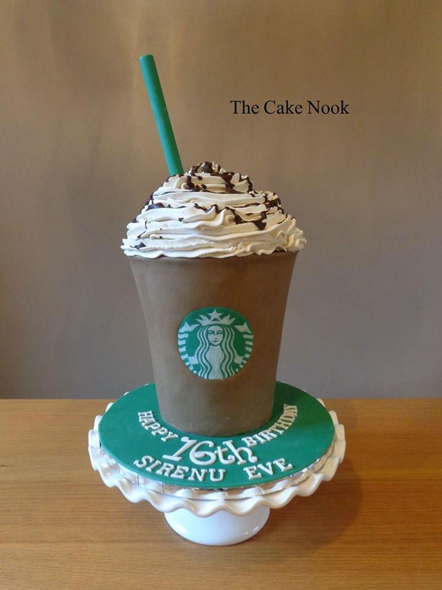 Starbucks Frappacino Cake - CakeCentral.com