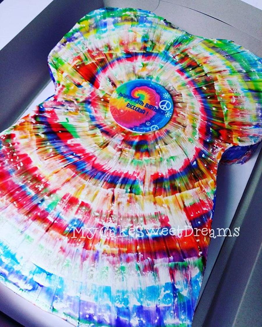 Tye Dye Cake Ideas