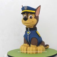 3D Chase Cake Paw Patrol How to make a 3D Paw Patrol cake of Chase :)Tutorial can be found here -