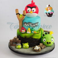 Angry Birds Angry Birds Cake