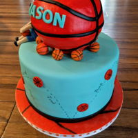 Basketball Cake....   Basketball birthday cake...