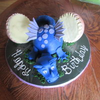 Blue Dragon And Egg This cake was done in a day. It was a labor of love for my grand daughter turning 9. Do to a very busy family life I ran short on time. I...