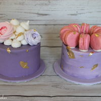Buttercream Cakes Loaded With Meringues And Macarons   Buttercream Cakes Loaded With Meringues and Macarons