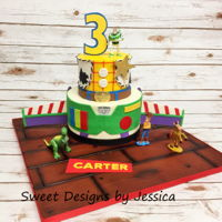 Carter's 3Rd   Toy Story themed 3rd birthday