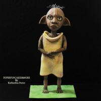 Dobby The House Elf Welcome to Hogwarts Cake Challenge!!!!!!We are a group of cakers who are coming together from all parts of the world to pay homage to the...
