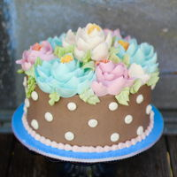 Fluffy Buttercream Flowers Royal Icing Buttercream flowers no cooking needed.. love these beauties