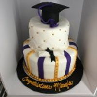 Graduation Cake Graduation cake with Cap and Diploma