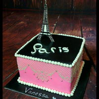 Paris Cake cake lace, paris cake