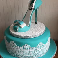 Shoe Cake For a special friend