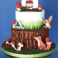The Gruffalo A Gruffalo inspired cake & party!